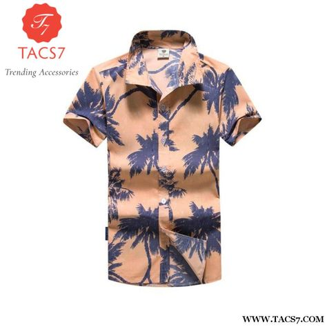 450f5d906 2017 Fashion Mens Short Sleeve Hawaiian Shirt Summer Breathable Cool Quick  Dry Casual Floral Shirts For Men Beach M-5Xl Asian Size / M