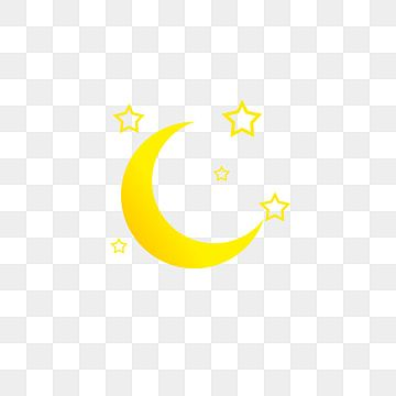 Cartoon Moon Crescent Moon Star Cartoon Moon Crooked Crescent Star Png And Vector With Transparent Background For Free Download Desktop Wallpaper Art Star Art Star Background