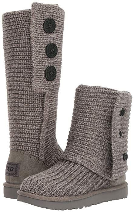 UGG Australia Classic Cardy Knit Tall Boots Shoes