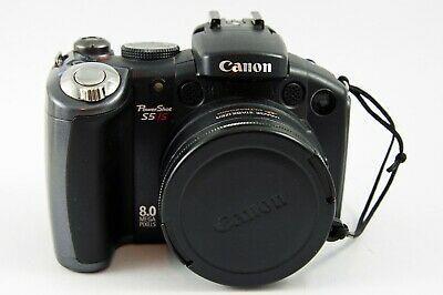 Canon Powershot S5 Is 8 0 Mp Digital Camera Digital Camera Camera Digital