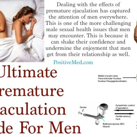 How to deal with premature ejaculation naturally