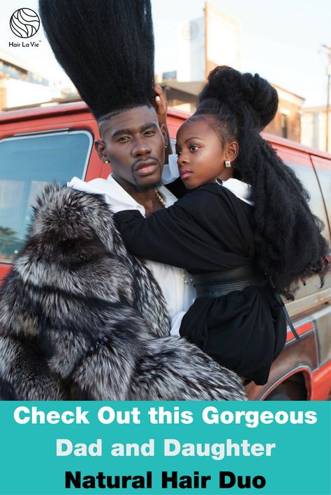 Daddy Daughter Duo Model Together in the Name of Family and Natural Hair  Read more  .......................................  #hairideas #hairstyles #haircuts #hairlavie #hairinspo #hairinspiration #hair #hairlavie #hairlavieblog #naturalhair #naturalhairfamily #naturalhairkids