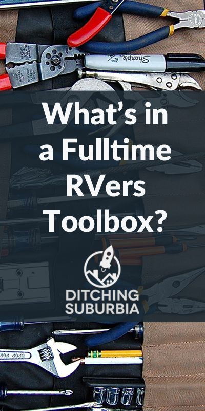 What's In a Fulltime RVers Toolbox?