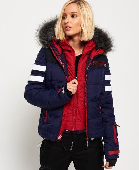 Superdry Gt Racer Jacke Jackets For Women Jackets Quilted Puffer Jacket