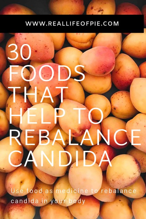 Learn how-to rebalance candida using food as medicine. By focusing on incorporating these 30 candida fighting foods into your diet, they will help boost your immune system, re-balance candida and restore balance to your microbiome. Candida Diet Food List, Anti Candida Diet, Candida Diet Recipes, Candida Cleanse, Cleanse Diet, Cleanse Recipes, Sugar Cleanse, Juice Cleanse, Get Rid Of Candida