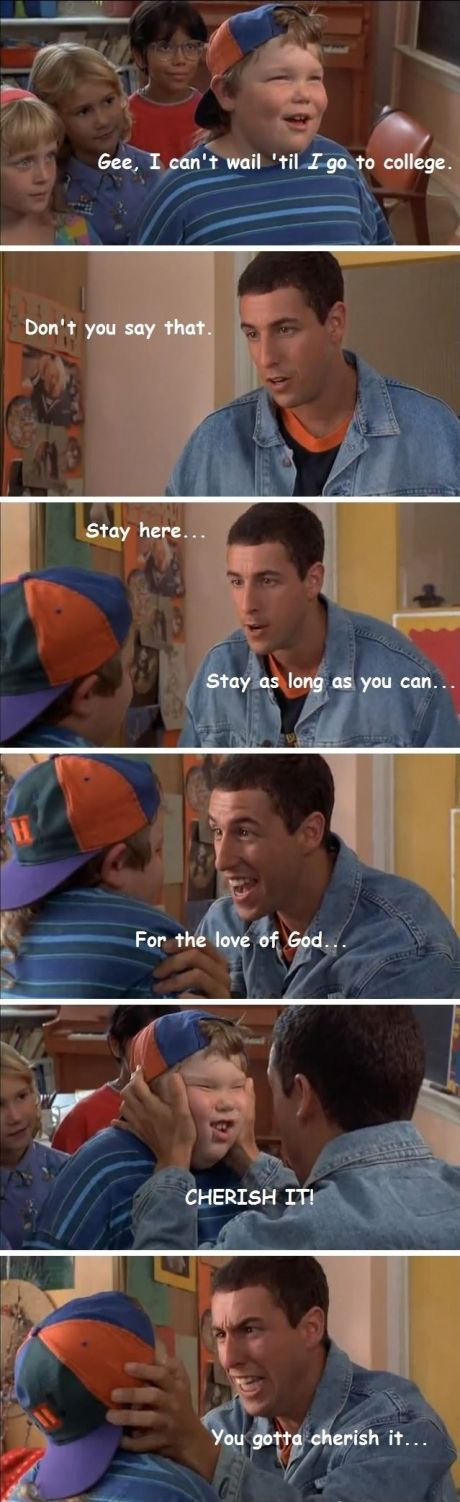 Where was Adam Sandler when I was a kid