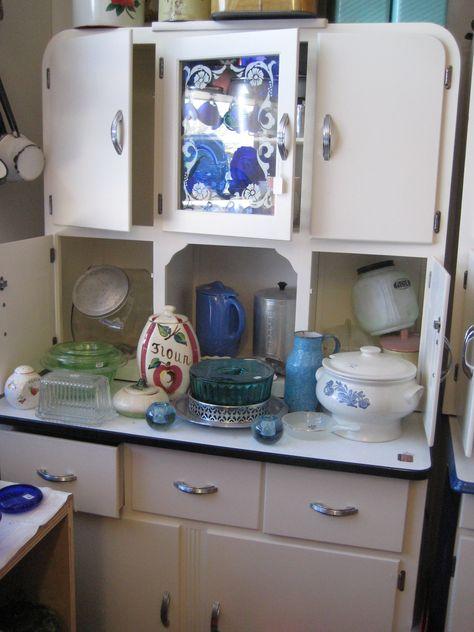 hoosier style cabinet