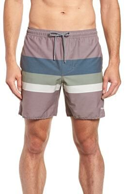 573fc5dcb8 RHYTHM Designer Retro Stripe Beach Swim Trunks | Clothing > Swimwear ...