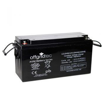 Offgridtec Akku 260Ah AGM Solar Batterie für zyklische Anwendungen