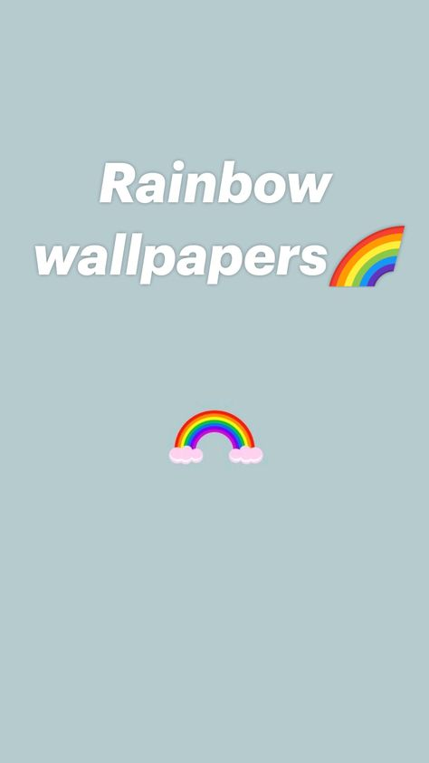 Rainbow wallpapers🌈