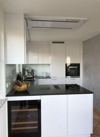 LEICHT Küchen AG; offene Küche in Lackausführung, weiss #Lack #weiss ...