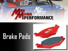 Performance Brake Pads For Mini Cooper