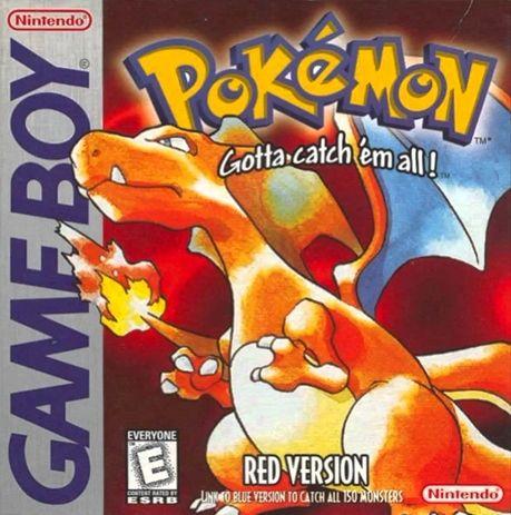 Pokemon Rojo Fuego 1996 Juegos De Pokemon Pokemon Pokemon Rojo