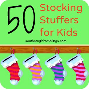 Stocking Stuffers for Kids - Yup! It's official, I've started making our lists :) Christmas is just over 7 months away!