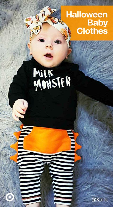 Can they get any cuter? Find baby clothes, Halloween costumes  ideas to get your little one ready for October 31.