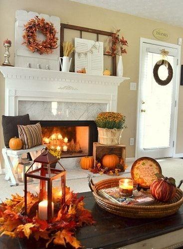 15 Intelligenteste Und Warmste Herbst Wohnzimmer Dekoration Ideen