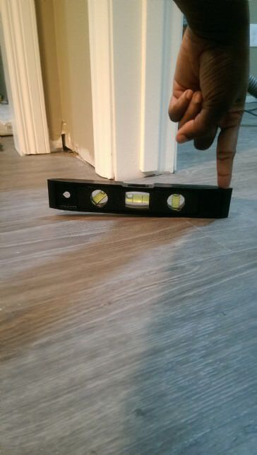 Vinyl Plank Laying Flooring, How To Install Laminate Flooring On Uneven Concrete Floor