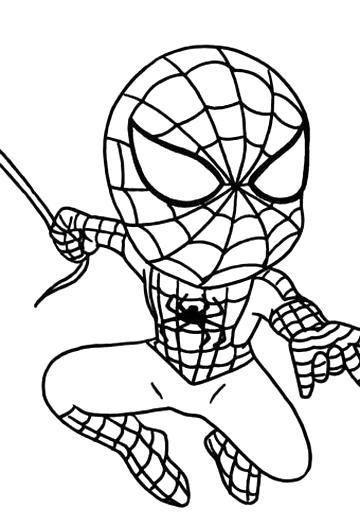 Baby Spiderman Coloring Pages V 2020 G Detskie Raskraski Raskraski Risunki
