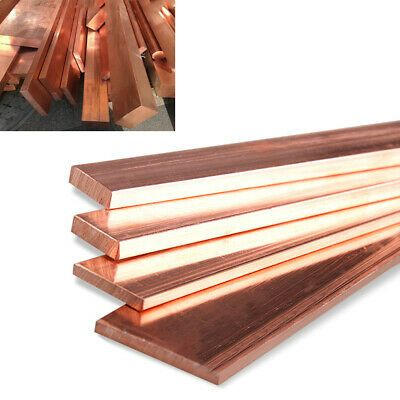 99 Pure Cu T2 Copper Bar Strip Square Rod Row Metal Sheet 100mm 250mm 10mm 50mm Ebay In 2020 Copper Bar Metal Sheet Pure Products