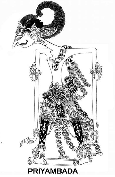 Gambar Tokoh Wayang Lan Jenenge