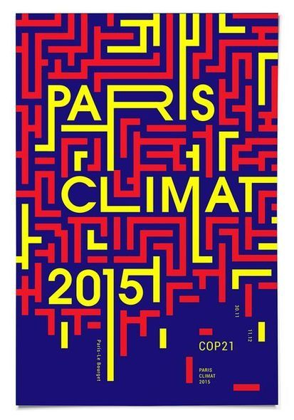 creative typography, experiments, paris climate 2015 #graphicdesign #poster #design   Search by Muzli