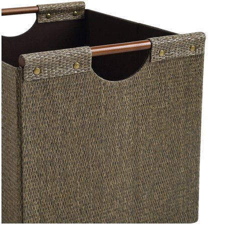 fa73c3454dbc170307331840fe42a033 - Better Homes And Gardens Woven Storage Bin Brown Durable Construction