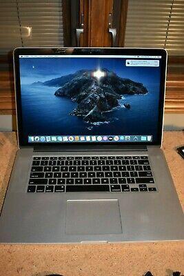 Apple Macbook Pro 15 4 Retina 2015 2 5ghz I7 16gb In 2020 Apple Laptop Apple Macbook Macbook Unibody