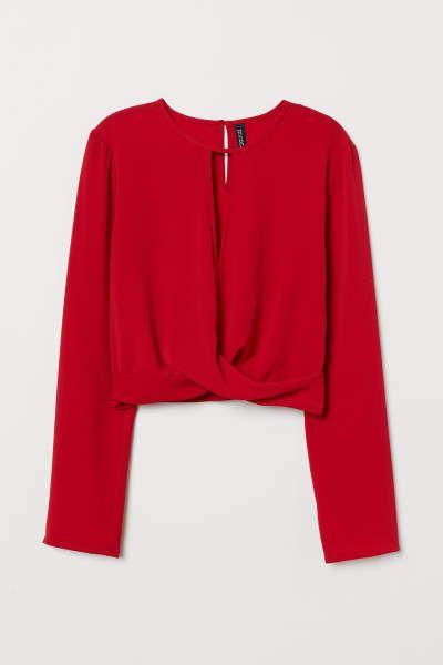 maíz cielo destacar  Blusas - MUJER | H&M MX | Ropa, Moda de ropa, Blusas juveniles moda