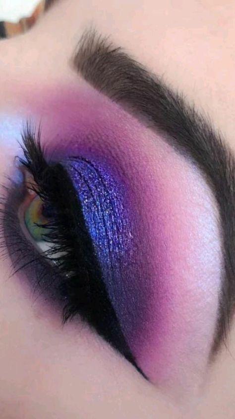 Matte Eye Makeup, Soft Eye Makeup, Glitter Eye Makeup, Eye Makeup Art, Dramatic Makeup, Dark Makeup, Smokey Eye Makeup, Simple Makeup, Eyeshadow Makeup