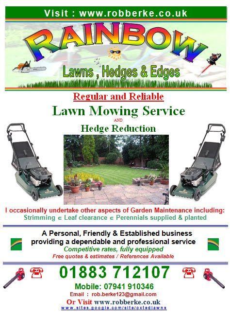 Image Result For Gardening Service Leaflet Garden Services Mowing Services Leaflet