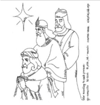 Los Reyes Magos Three Kings Color By Conjugation Sheet By Singinsenorita Los Reyes Magos Reyes Magos Three Kings