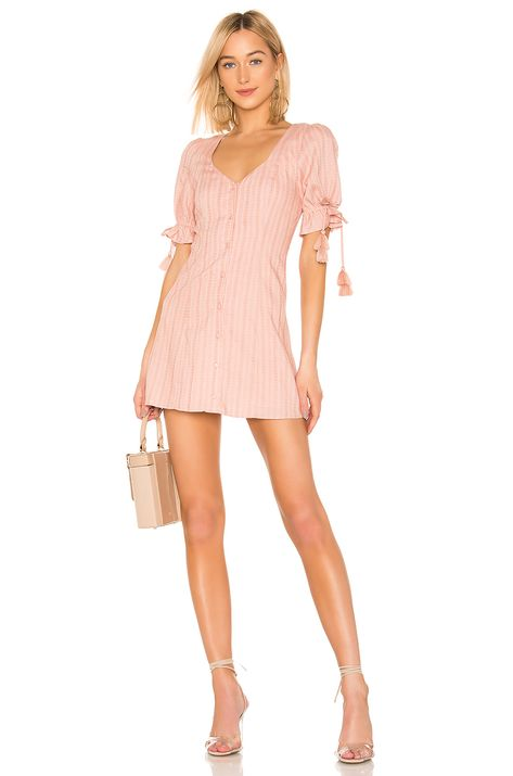 Tularosa Penny Dress in Blush | REVOLVE