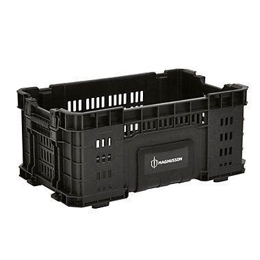 Magnusson Site System 12 Open Crate Crate Magnusson Open Panieretboitederangementcasto Crates Chests Diy Tool Storage