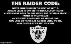 Raider Nation Baby! I have a Raider family...   :D