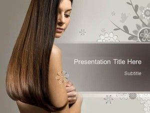Free Beauty Hair PPT Template | Projects to Try in 2019 | Hair
