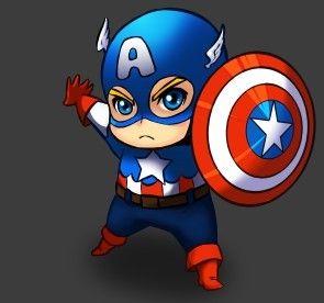 Mini Superheroes  Para dibujar Cmics y Imprimibles