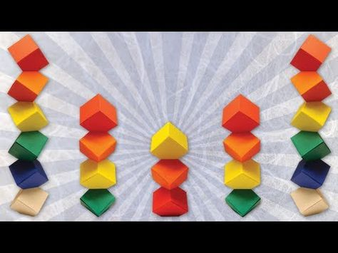 Origami Columbus Tower (Dave Mitchell) - YouTube