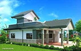 Image Result For Parapet Wall Designs One Storey House House Design Bungalow House Design