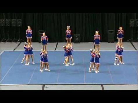 Columbus High School Cheerleading... love the stunt at 0:25!