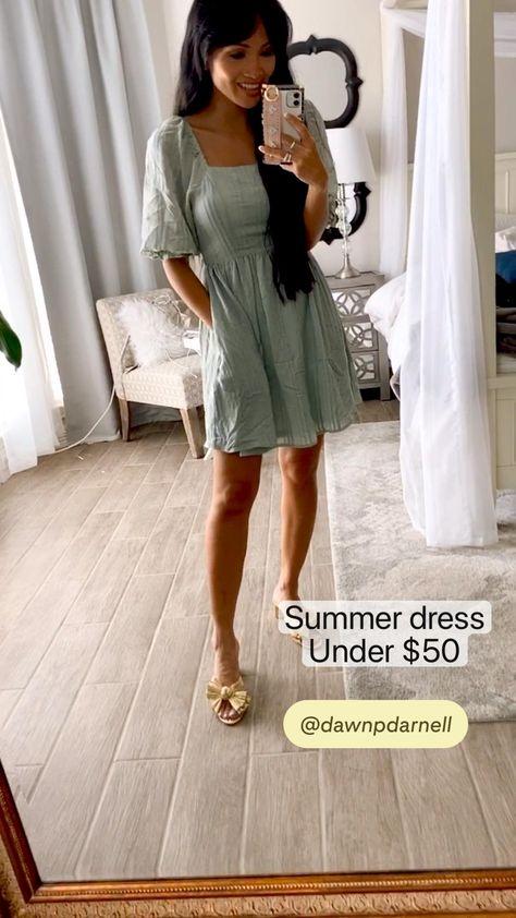 Summer dress Under $50