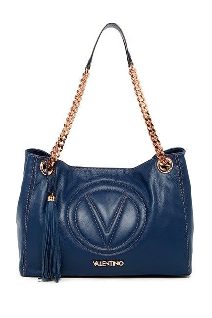 2be2dd31ffc Get one of the hottest styles of the season! The Valentino By Mario Vera  Quilted-logo Leather Tote Shoulder Bag is a top 10 member favorite on  Tradesy.