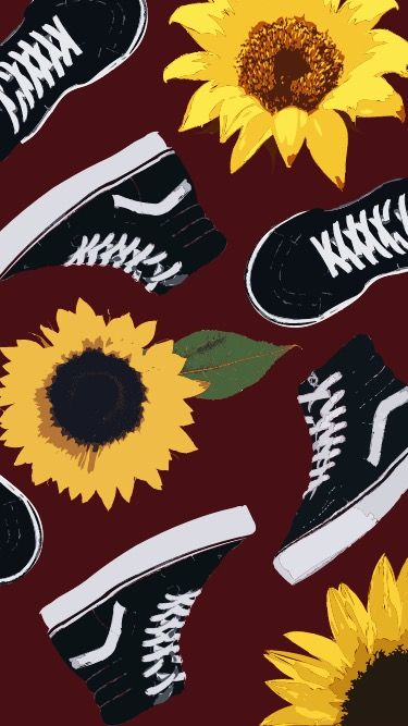 Sunflowers And Vans With Images Iphone Wallpaper Vans