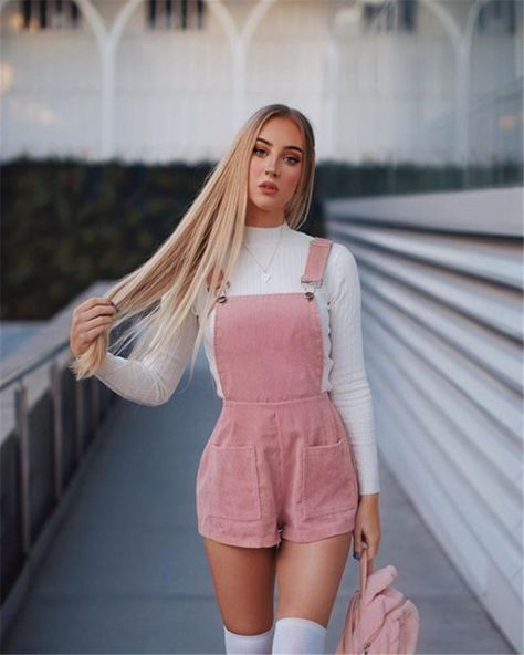 22 Gorgeous Spring Outfits For Teens Back To School - Women Fashion Lifestyle Blog Shinecoco.com