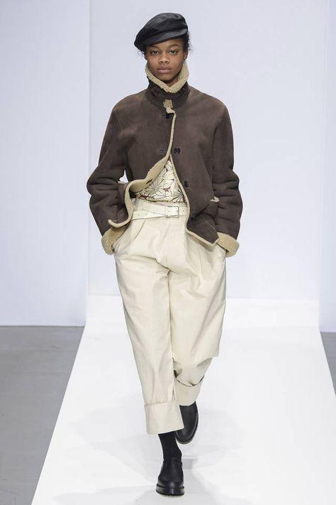 Margaret Howell Runway Collection fall winter 2019 london fashion week presentation co ed men women ready to wear