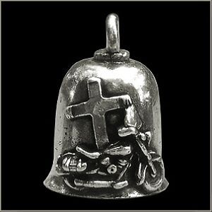 THE GREMLIN BELL guardian biker harley motorcycle good luck charm