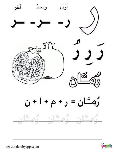 اوراق عمل لتعليم كتابة الحروف العربية للاطفال للطباعة اوضاع الحروف في الكلمه بالعربي نتعلم Learning Arabic Arabic Alphabet For Kids Arabic Handwriting