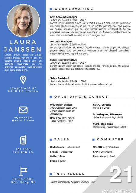 dans cv voorbeeld katherinafong67 (katherinafong67) on Pinterest