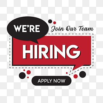 We Are Hiring Png Vector Design Template We Are Hiring Png Images We Are Hiring Vector Were Hiring Png Png And Vector With Transparent Background For Free Do Design Template Job