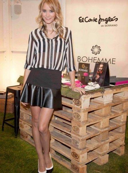 Alba Carrillo, imagen del evento-  Joyería de Moda de El Corte Inglés 2013, decorado por La Reina Oca.   Cortesía de Modalia.es