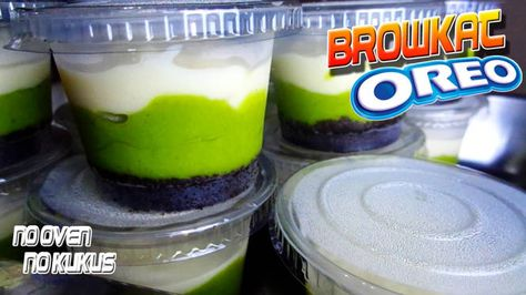 Pin Di Browkat Brownies Oreo Alpukat Oreo Avocado Cheesecake